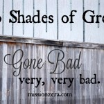 50 Shades of Grey – Gone BAD…very, very, bad.
