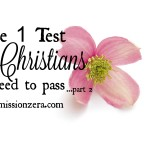 The 1 test Christians need to pass… for the reward (part 2)